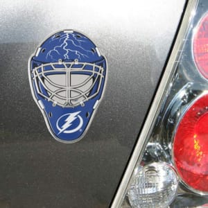 Tampa Bay Lightning Goalie Mask Auto Emblem