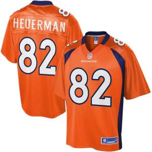 Youth Denver Broncos Jeff Heuerman NFL Pro Line Team Color Jersey