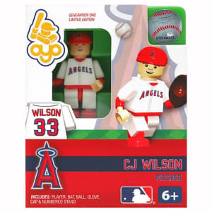 CJ Wilson Los Angeles Angels OYO Sports Player Minifigure