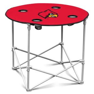 Louisville Cardinals Round Table - Red