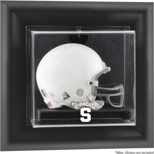Syracuse Orange Fanatics Authentic Black Framed (2015-Present Logo) Wall-Mountable Mini Helmet Display Case
