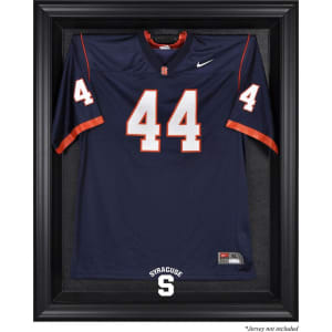 Syracuse Orange Fanatics Authentic Black Framed (2015-Present Logo) Jersey Display Case