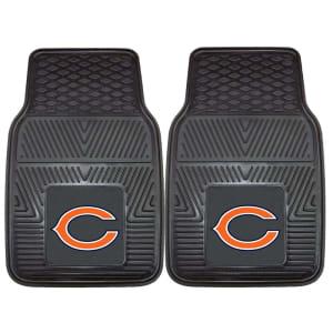 "Chicago Bears 27"" x 18"" 2-Pack Vinyl Car Mat Set"