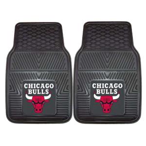 "Chicago Bulls 27"" x 18"" 2-Pack Vinyl Car Mat Set"