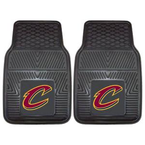 "Cleveland Cavaliers 27"" x 18"" 2-Pack Vinyl Car Mat Set"