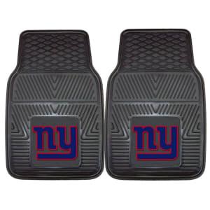 "New York Giants 27"" x 18"" 2-Pack Vinyl Car Mat Set"