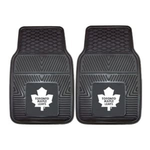 "Toronto Maple Leafs 27"" x 18"" 2-Pack Vinyl Car Mat Set"