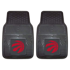 "Toronto Raptors 27"" x 18"" 2-Pack Vinyl Car Mat Set"