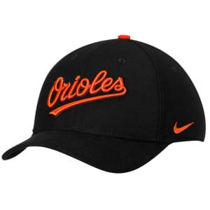 Baltimore Orioles Nike Classic Swoosh Performance Flex Hat - Black