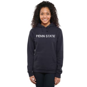 Penn State Nittany Lions Women's Classic Wordmark Pullover Hoodie - Navy