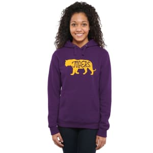 LSU Tigers Women's DNA Pullover Hoodie - Purple