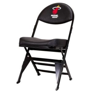 Miami Heat X-Frame Court Side Folding Chair