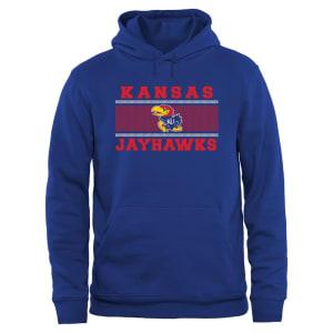 Kansas Jayhawks Big & Tall Micro Mesh Sweatshirt - Royal