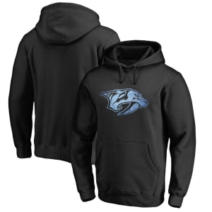 Nashville Predators Rinkside Pond Hockey Pullover Hoodie - Black