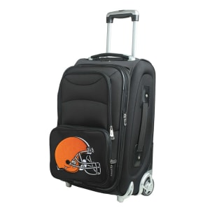"""Cleveland Browns 21"""" Rolling Carry-On Suitcase"""