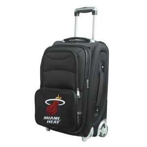 """Miami Heat 21"""" Rolling Carry-On Suitcase"""