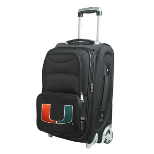"""Miami Hurricanes 21"""" Rolling Carry-On Suitcase"""