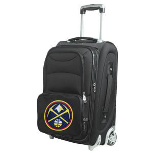 """Denver Nuggets 21"""" Rolling Carry-On Suitcase"""