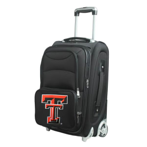 """Texas Tech Red Raiders 21"""" Rolling Carry-On Suitcase"""