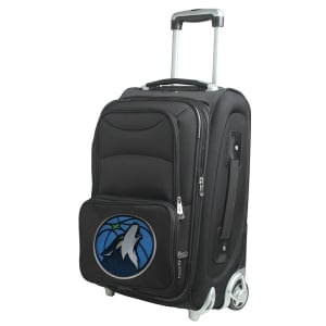 """Minnesota Timberwolves 21"""" Rolling Carry-On Suitcase"""