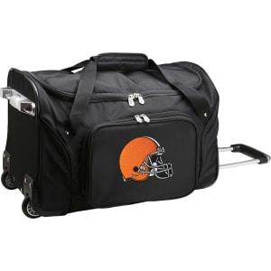 "Cleveland Browns 22"" 2-Wheeled Duffel Bag - Black"