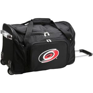 "Carolina Hurricanes 22"" 2-Wheeled Duffel Bag - Black"