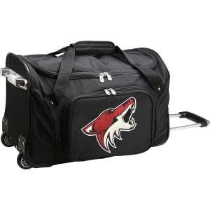 "Arizona Coyotes 22"" 2-Wheeled Duffel Bag - Black"