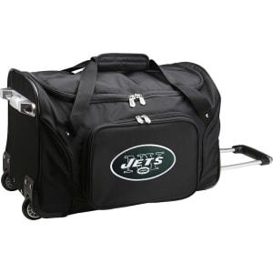 "New York Jets 22"" 2-Wheeled Duffel Bag - Black"