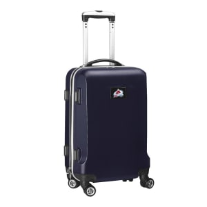 """Colorado Avalanche 20"""" 8-Wheel Hardcase Spinner Carry-On - Navy"""