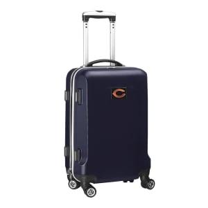 """Chicago Bears 20"""" 8-Wheel Hardcase Spinner Carry-On - Navy"""