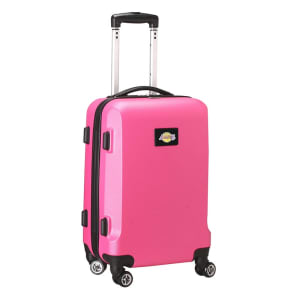 """Los Angeles Lakers 20"""" 8-Wheel Hardcase Spinner Carry-On - Pink"""