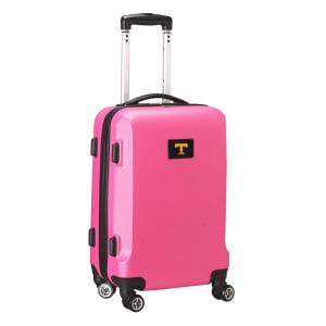 """Tennessee Volunteers 21"""" 8-Wheel Hardcase Spinner Carry-On - Pink"""