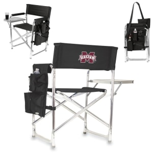 Mississippi State Bulldogs Sports Chair - Black