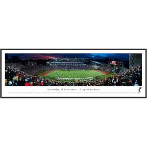 "Cincinnati Bearcats 13"" x 40"" Stadium Standard Frame Panorama"