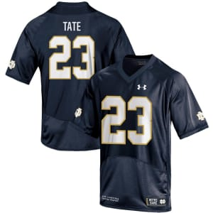 Golden Tate Notre Dame Fighting Irish Under Armour Youth Replica Jersey - Navy