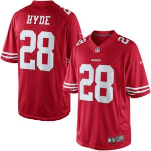 Carlos Hyde San Francisco 49ers Nike Limited Jersey - Scarlet