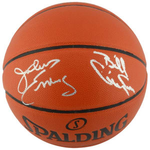 Julius Erving, Billy Cunningham Philadelphia 76ers Fanatics Authentic Autographed Indoor/Outdoor Basketball