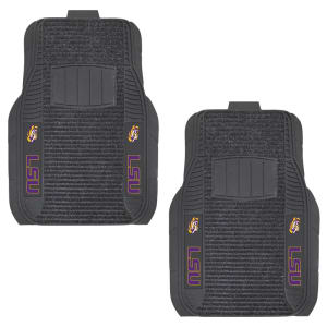 LSU Tigers Two-Piece Deluxe Car Mat Set