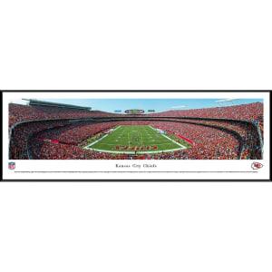 "Kansas City Chiefs 40.25"" x 13.75"" End Zone Standard Framed Panoramic Photo"