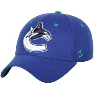 Vancouver Canucks Zephyr Breakaway Flex Hat - Blue