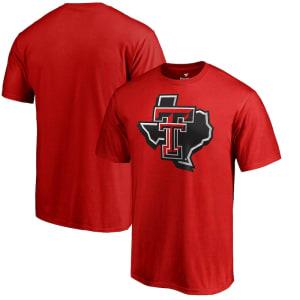 Texas Tech Red Raiders Alternate Logo One T-Shirt - Red