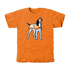 Tennessee Volunteers Auxiliary Logo Tri-Blend T-Shirt - Tennessee Orange