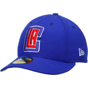 LA Clippers New Era Low Profile 59FIFTY Fitted Hat - Royal