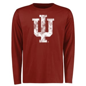 Indiana Hoosiers Big & Tall Classic Primary Long Sleeve T-Shirt - Crimson