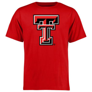 Texas Tech Red Raiders Big & Tall Classic Primary T-Shirt - Red