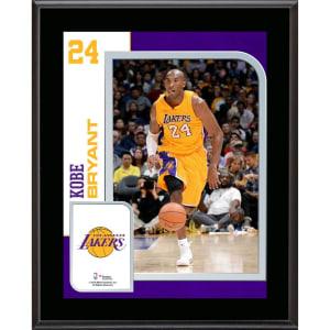 "Kobe Bryant Los Angeles Lakers Fanatics Authentic 10.5"" x 13"" Sublimated Player Plaque"