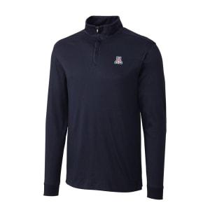 Arizona Wildcats Cutter & Buck Belfair Half-Zip Jacket - Navy