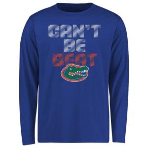 Florida Gators Youth Can't Be Beat Long Sleeve T-Shirt - Royal