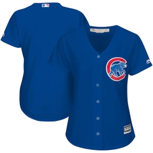 Chicago Cubs Majestic Women's Alternate Cool Base Jersey - Royal