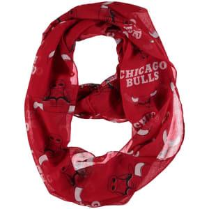 Chicago Bulls Women's Team Logo Infinity Scarf